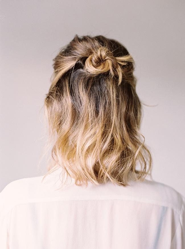 1001 kiểu tóc búi đẹp cho các nàng tóc ngắn cực chất trong ngày hè 2017 phần 4