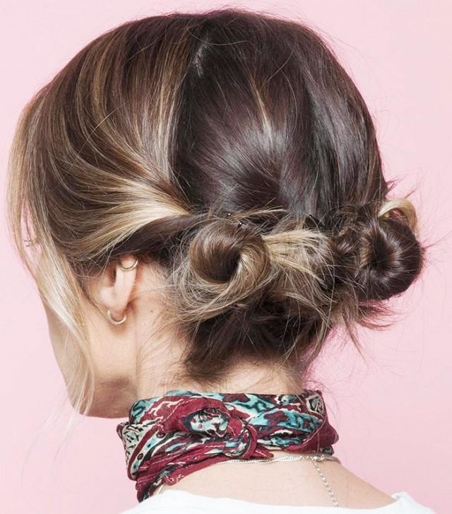 1001 kiểu tóc búi đẹp cho các nàng tóc ngắn cực chất trong ngày hè 2017 phần 6