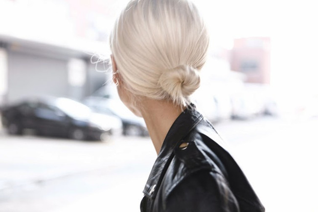 1001 kiểu tóc búi đẹp cho các nàng tóc ngắn cực chất trong ngày hè 2017 phần 7