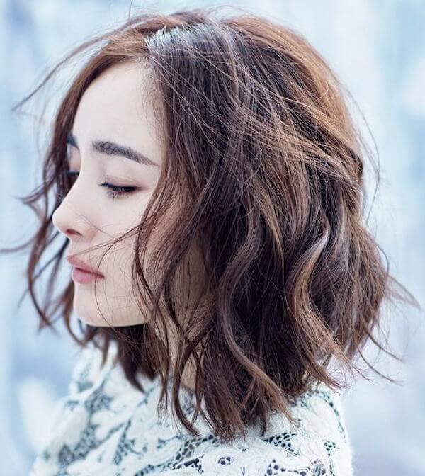 Kiểu tóc ngắn uốn xoăn hàn quốc đẹp 2017 được các hotgirl yêu thích nhất phần 7