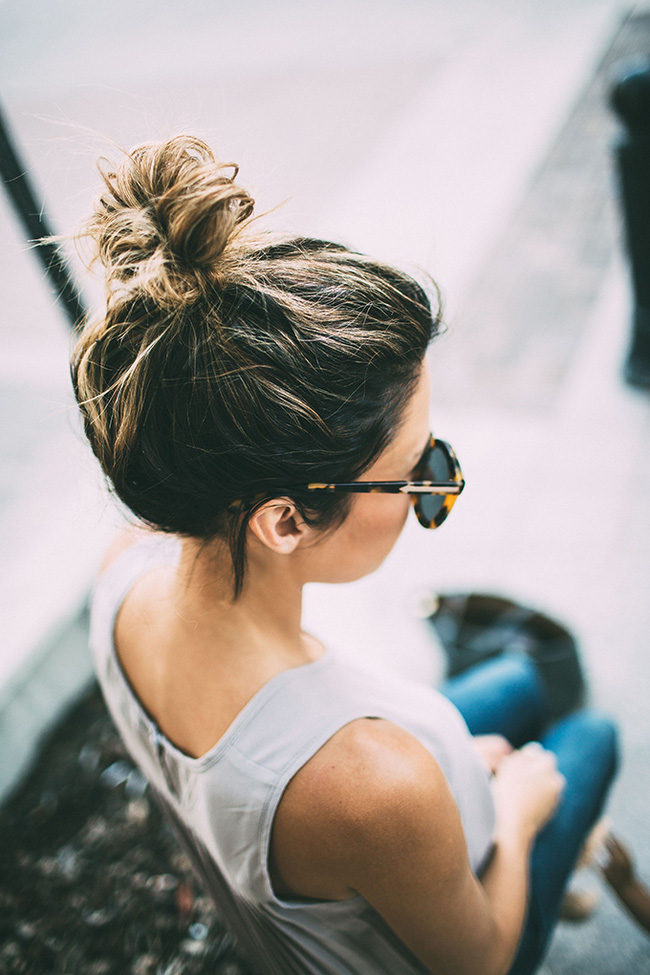 Những kiểu tóc búi đẹp nhất cho ngày hè 2016 - 2017 thêm mát mẻ cá tính phần 12