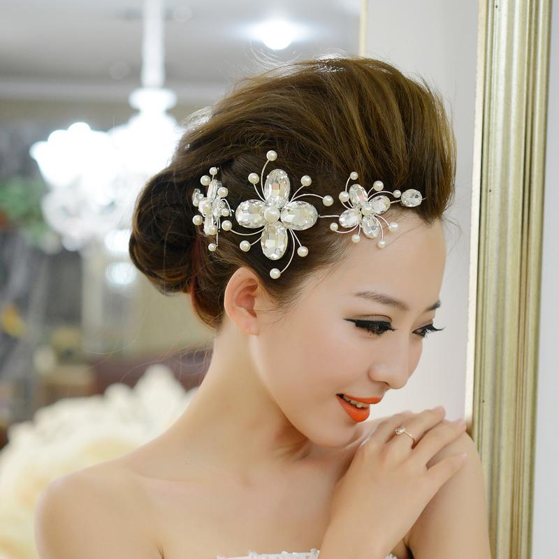 Bật mí kiểu tóc cô dâu đẹp 2016 - 2017 cho nàng khuôn mặt tròn lộng lẫy nhất phần 4