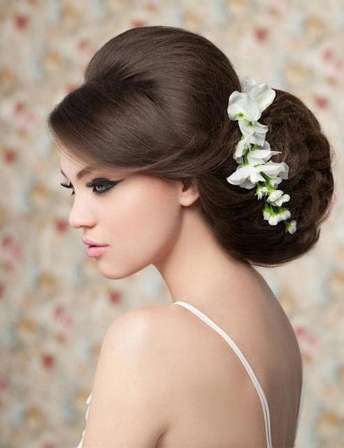 Bật mí kiểu tóc cô dâu đẹp 2016 - 2017 cho nàng khuôn mặt tròn lộng lẫy nhất phần 8