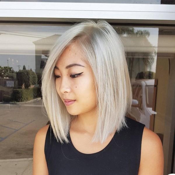 Kiểu tóc nhuộm màu vàng hoe đẹp cực chất của con gái Châu Á 2016 - 2017 phần 10