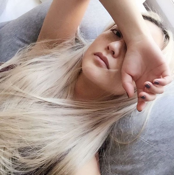 Kiểu tóc nhuộm màu vàng hoe đẹp cực chất của con gái Châu Á 2016 - 2017 phần 12