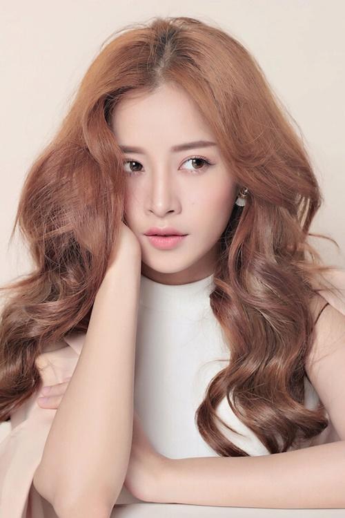 Màu tóc nhuộm vàng khói đẹp 2017 được Ngọc Trinh và sao Việt ưa chuộng phần 4