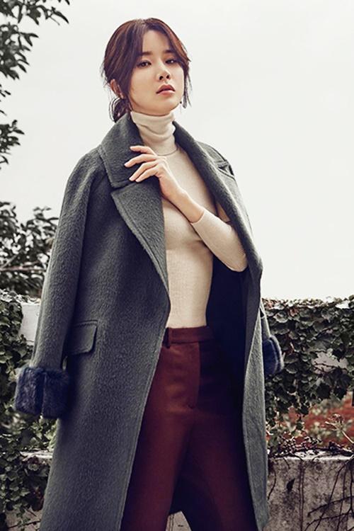 Muôn kiểu tóc rẽ ngôi giữa đẹp đang được mỹ nhân Hàn lăng xê 2017 phần 2