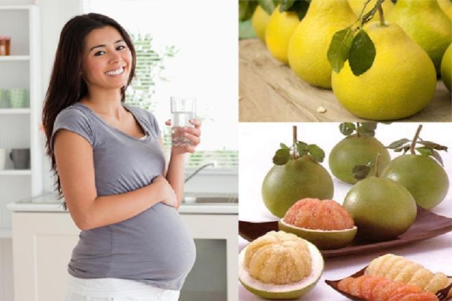 Ăn bưởi sẽ giúp cho các mẹ hạn chế tình trạng đầy bụng, khó tiêu