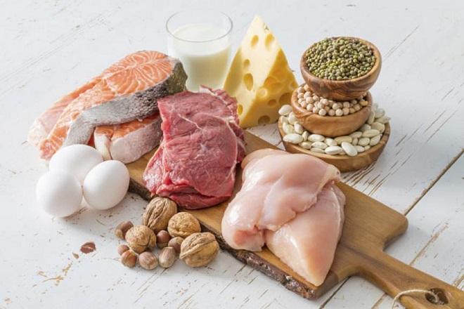 bổ sung protein qua thực phẩm
