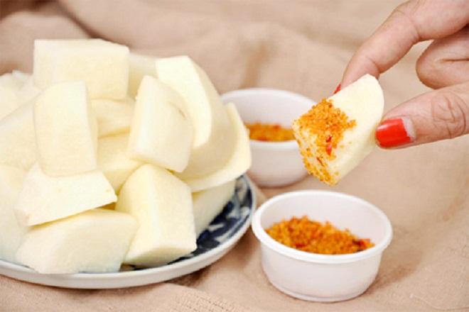 Củ đậu là một trong những loại quả có tính giải nhiệt và thanh mát