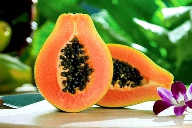 Đu đủ là trái cây tốt cho mẹ sau sinh mổ