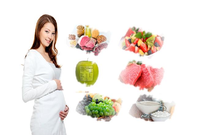 mẹ bầu bổ sung đủ chất dinh dưỡng