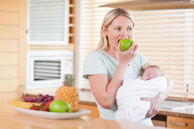 mẹ sinh mổ nên quan tâm tới dinh dưỡng