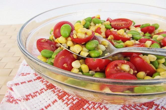 Món salad bắp