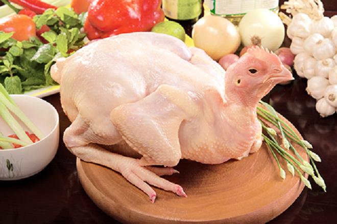 sinh mổ có nên ăn thịt gà