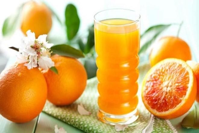 sinh mổ nên ăn cam quýt