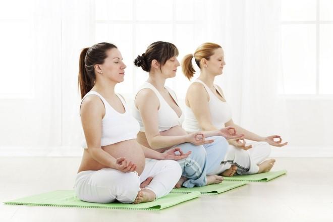 Tăng cường tập luyện thể dục để mẹ bầu dễ sinh
