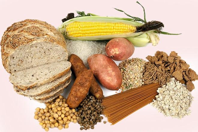 Các thực phẩm chứa carbohydrates