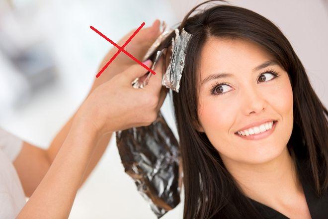 không nên nhuộm tóc