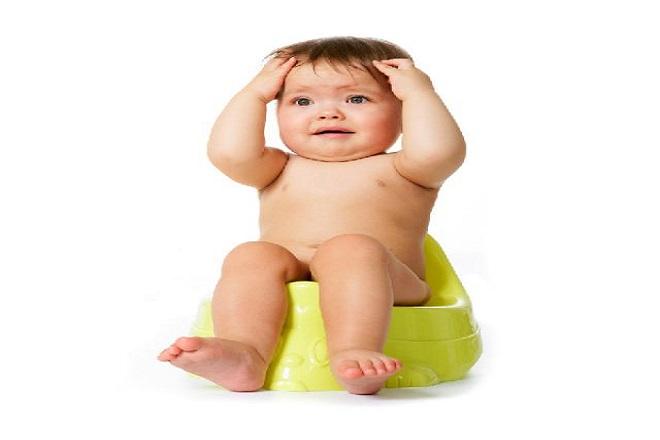 trẻ sơ sinh bị táo bón