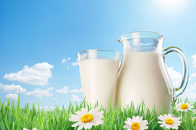 uống sữa trước khi mang thai