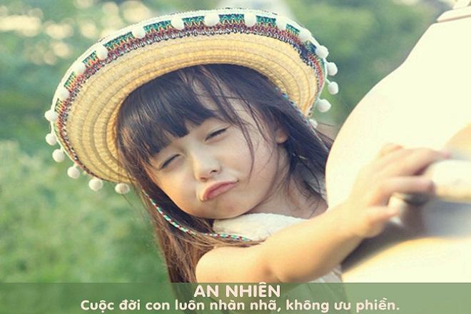 đặt bé gái tên An Nhiên
