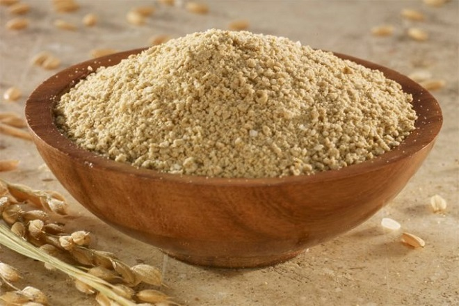 bột cám gạo làm từ tự nhiên