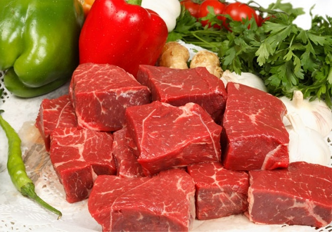sau sinh nên ăn thịt bò nạc