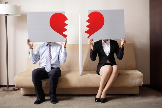 vợ chồng chia tay