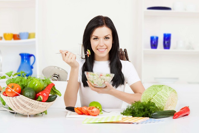 chế độ ăn sau sinh nhiều rau củ