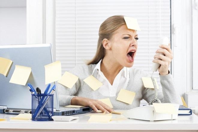 Công việc căng thẳng, stress