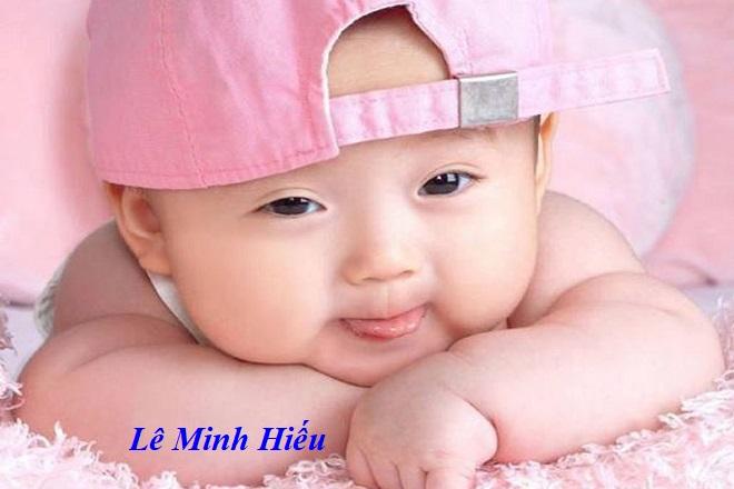 đặt tên cho con trai họ Lê là Minh Hiếu