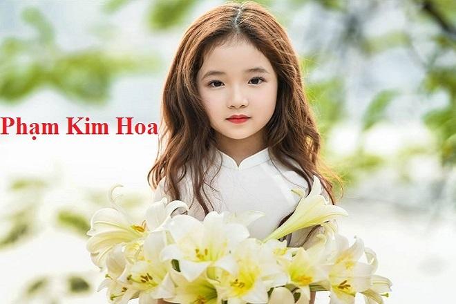 đặt tên bé gái là Phạm Kim Hoa