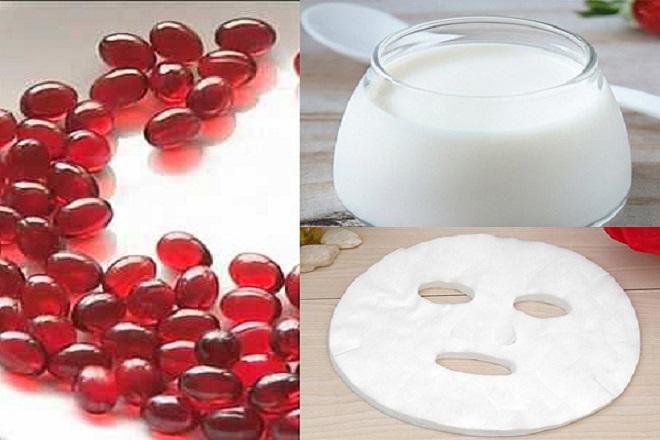 kết hợp dầu gấc với sữa tươi