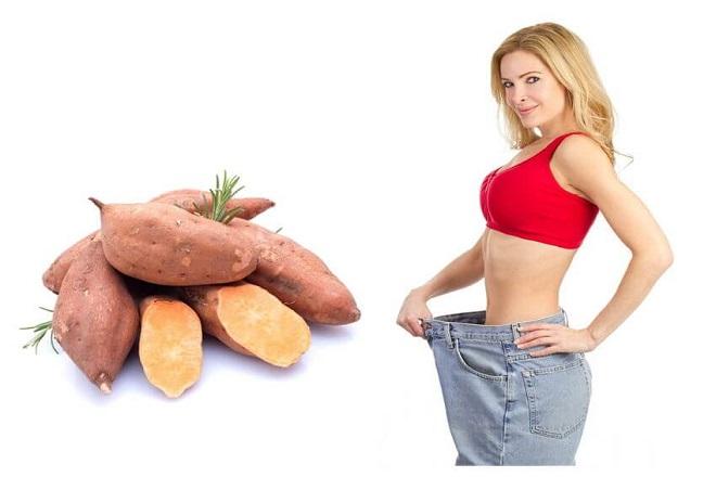 khoai lang giảm cân