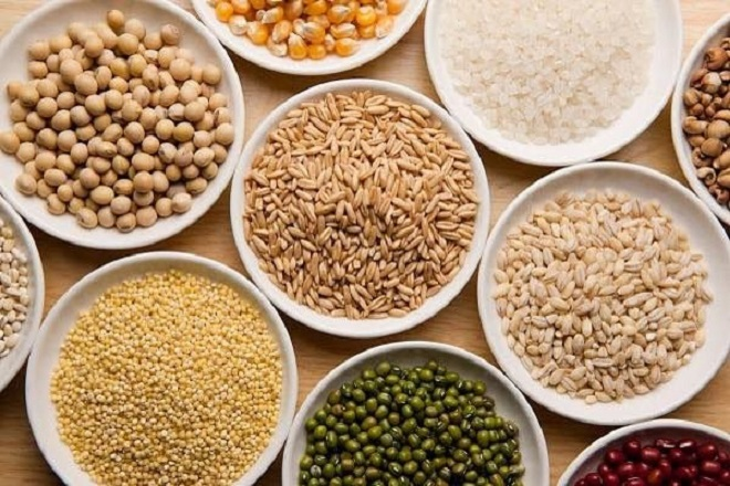 ngũ cốc các loại hạt