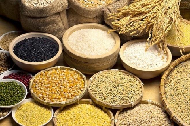 nhiều loại ngũ cốc dễ tìm