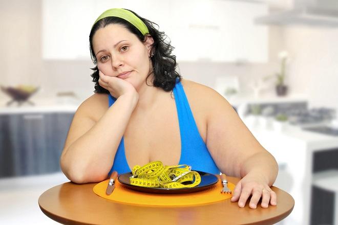 Phụ nữ bị thừa cân