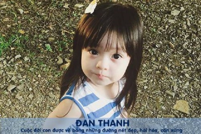 đặt tên cho con gái là Đan Thanh