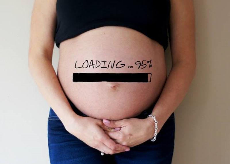 thai phụ chuyển dạ sinh con