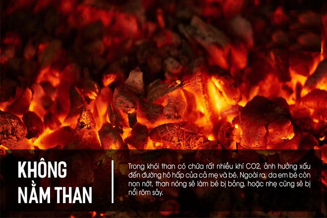 trong than cháy có khí CO2
