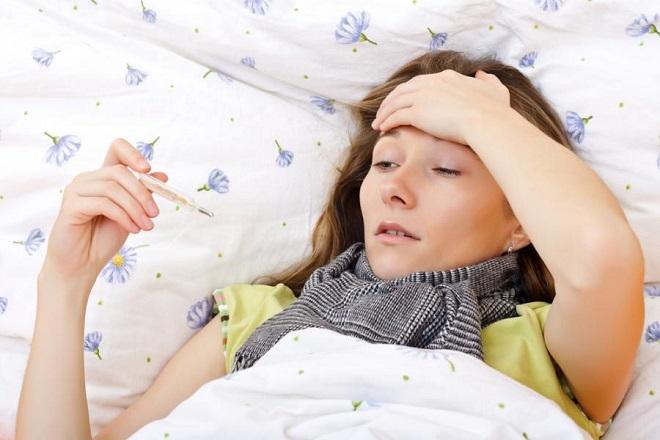bà bầu bị cảm cúm