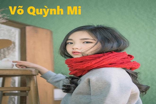 bé gái tên võ quỳnh mi