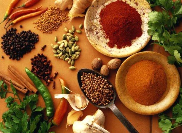 Giảm ǎn các loại gia vị như ớt, tiêu, tỏi, dấm