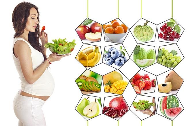 Dinh dưỡng khi mang thai tháng cuối