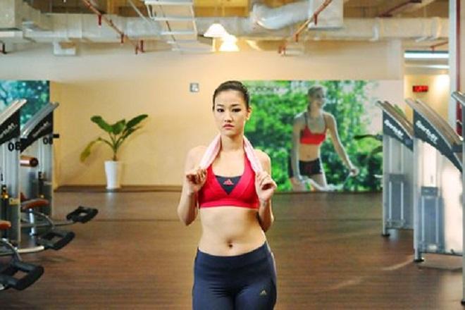 maya tập gym