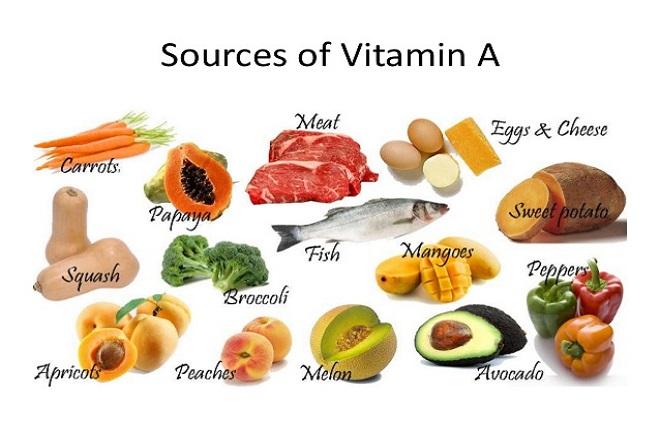 Ăn những thực phẩm giàu Vitamin A