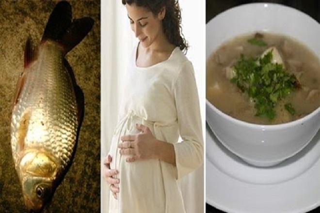 bà bầu ăn cá chép 3 tháng đầu thai kỳ