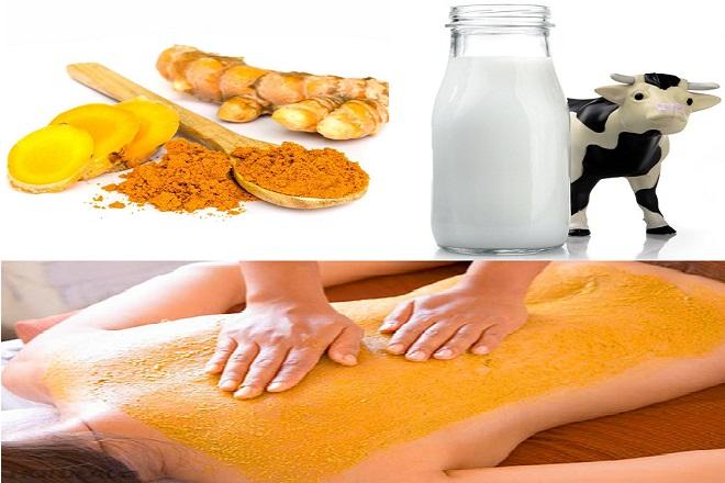 cách tắm nghệ sau sinh và sữa tươi