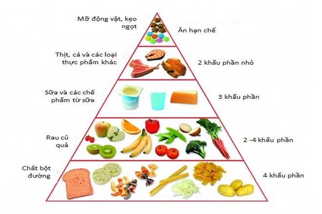 Cân đối thành phần dinh dưỡng